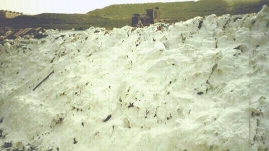 Landfill Cover,Odor Control foam,waste encapsulation, waste immobilization, leachate treatment